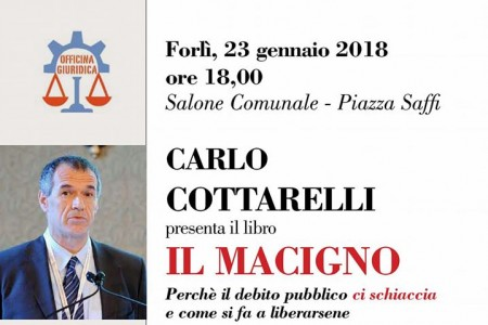 carlo cottarelli il macigno forli - ditv emilia romagna