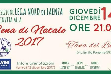 festa auguri lega nord faenza - ditv emilia romagna