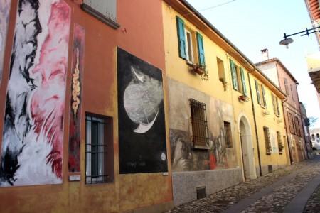 muro dipinto dozza 2017 - ditv emilia romagna 2